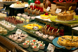 Dessert section