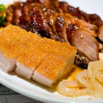 BBQ meats twin combo - roast pork & char siew, S$16.00++