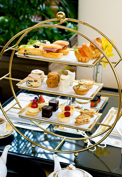Traditional Afternoon Tea Chihuly Lounge The Ritz Carlton