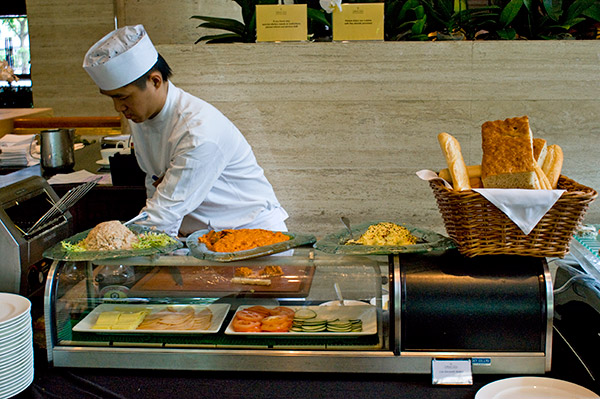 weekend high tea buffet @ the dining room, sheraton towers