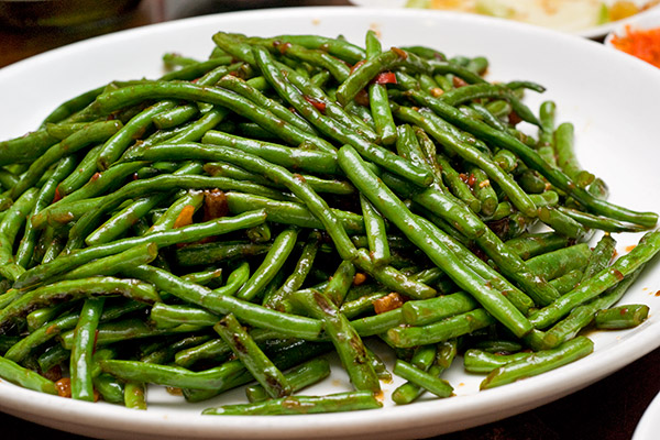 Sauteed French Beans with Dried Shrimp in XO Sauce