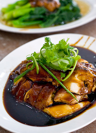 Soy sauce chicken