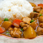 Homemade Jap curry with rice - simple and satisfying!