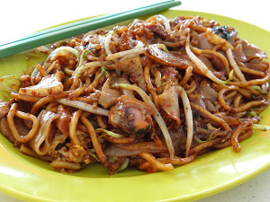 Fried kway teow (this portion is S$3.00; prices start from S$2.50)