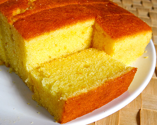 Simple Moist Butter Cake Recipe