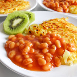 Rosti and baked beans