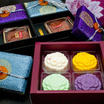 Crystal Jade Premium Box and yogurt mooncakes