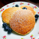 Fluffy buttermilk pancakes!