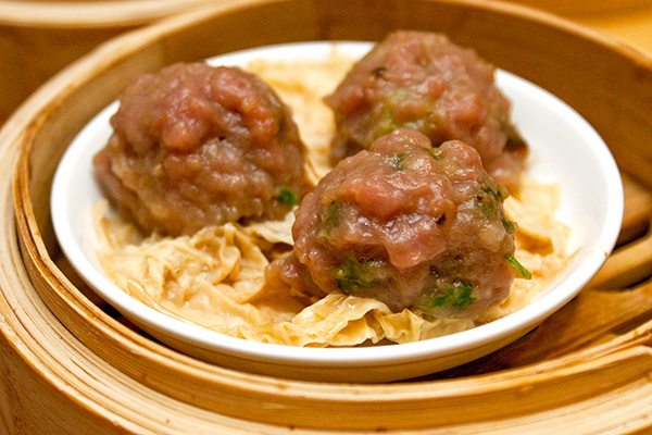 Beef Ball with Beancurd Skin (3pcs), $4.20