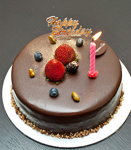 Chocolate Hazelnut cake (S$27.80 for 0.5kg)