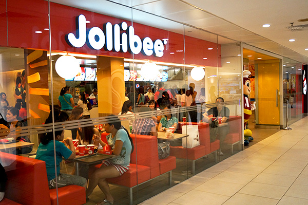 Jollibee at Lucky Plaza