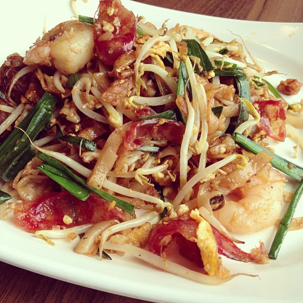 Penang fried kway teow, S$5.50