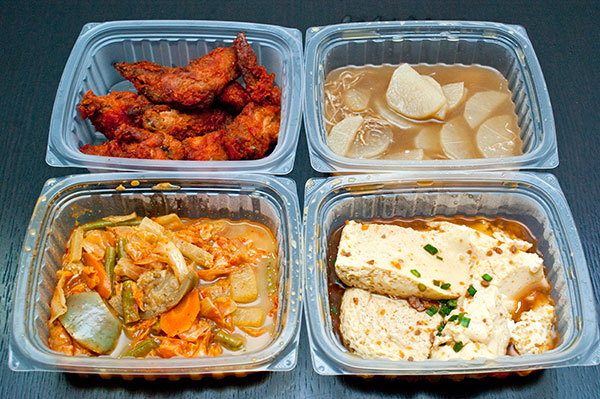 Tingkat dinner delivery from Kim\'s Kitchen: Day 1