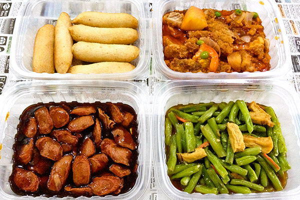Tingkat dinner delivery from Kim\'s Kitchen: Day 2 to Day 4