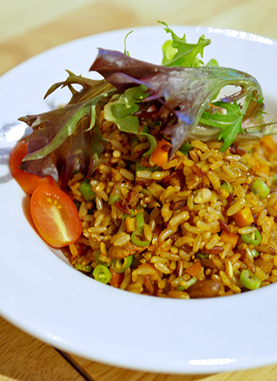 Organic Fried Rice, S$7.80