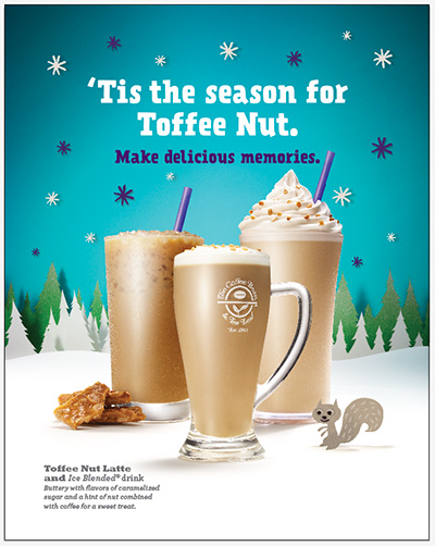 Cbtl Christmas 2017 Holiday Beverages Toffee Nut