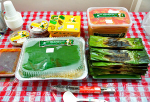 Food catered from Lee Wee & Brothers.
