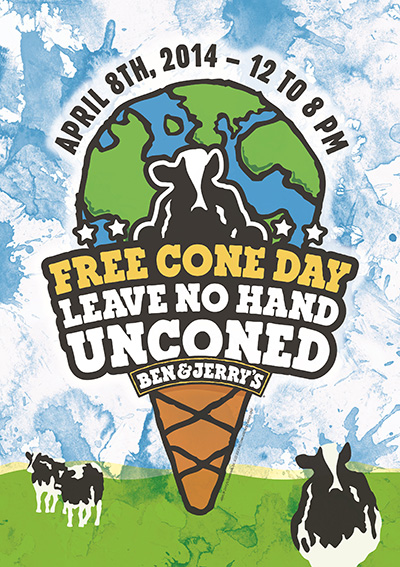 benjerry-freeconeday-2014