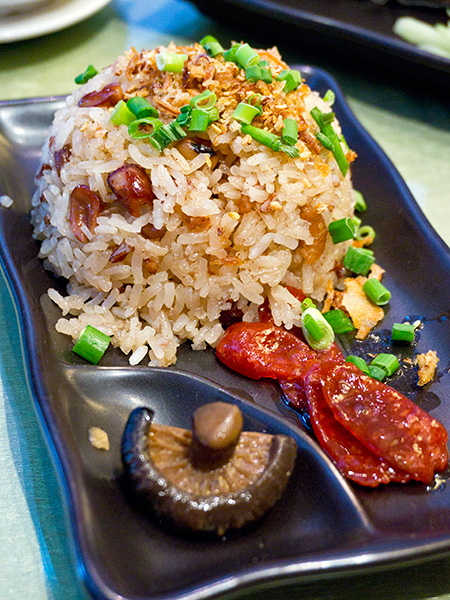 Glutinous Rice with Organic Unpolished Rice,