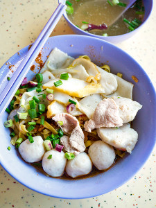 FIshball meepok, S$3.00