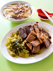Braised duck with kway, S$5.00