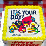 Angry Birds birthday cake from Polar Puffs & Cakes