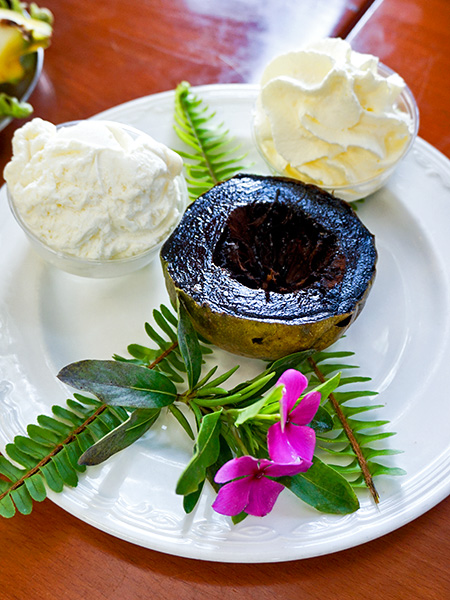 "Black Sapote a.k.a. ""Chocolate Pudding"" fruit"