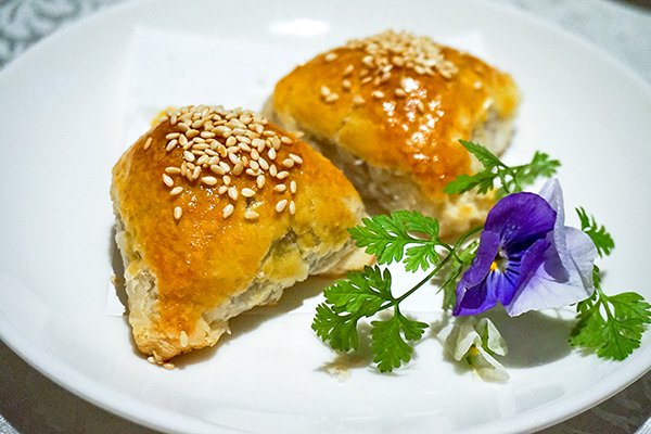 Baked Barbecued Pork Pastry