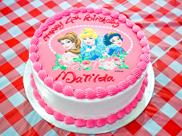Disney Princess Cake From Bengawan Solo